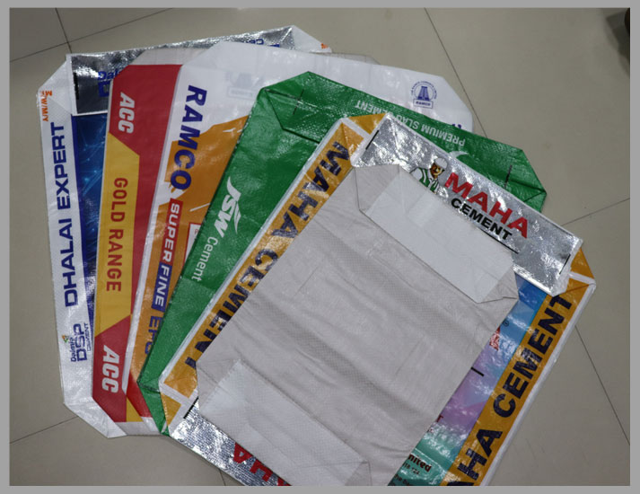Block Bottom AD Star Bags | PP Woven Bag Manufacturer India