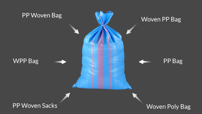 Different Names Of Polypropylene Woven Bags
